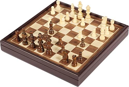 Spin Master Games 6053185 CGI CLG Legacy Delx ChessSet WoodBx GML