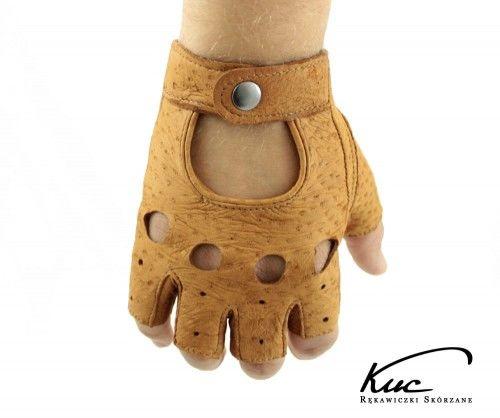 Rękawiczki bez palców z pekari - niezwykle miękkie i trwałe