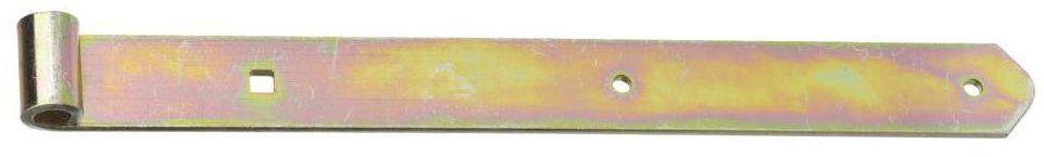 Zawias pasowy 400 x 40 mm przykręcany ocynkowany