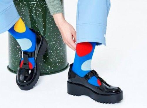 Happy Socks skarpetki JUB01-6300 KROPKI r. 36-40
