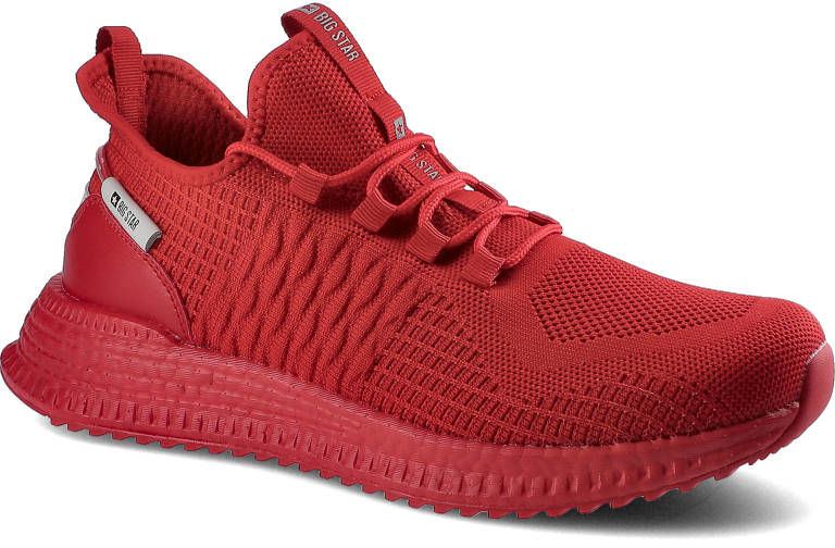 Sneakersy BIG STAR HH174275 Czerwony