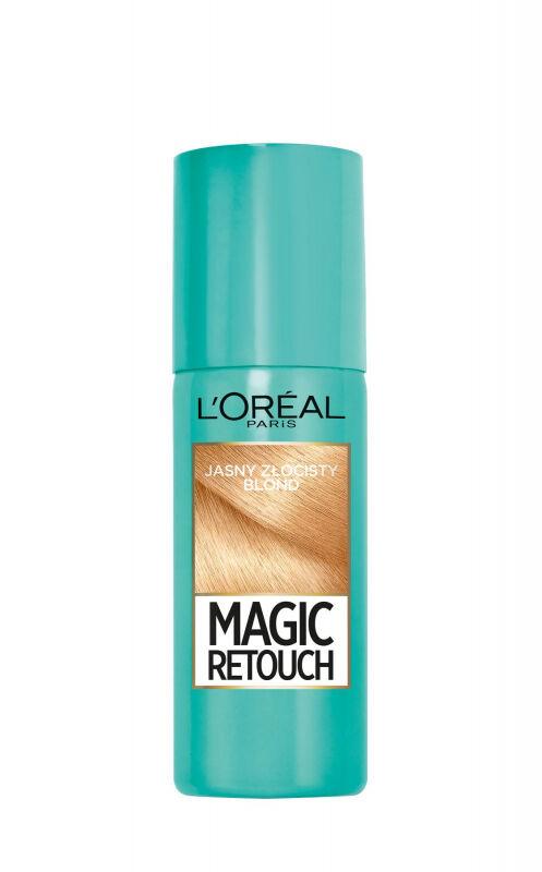 L''Oréal - MAGIC RETOUCH - Spray do błyskawicznego retuszu odrostów - JASNY ZŁOCISTY BLOND