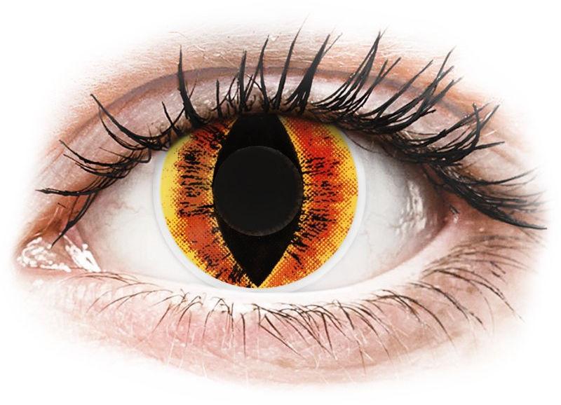 ColourVUE Crazy Lens - Saurons Eye - zerówki
