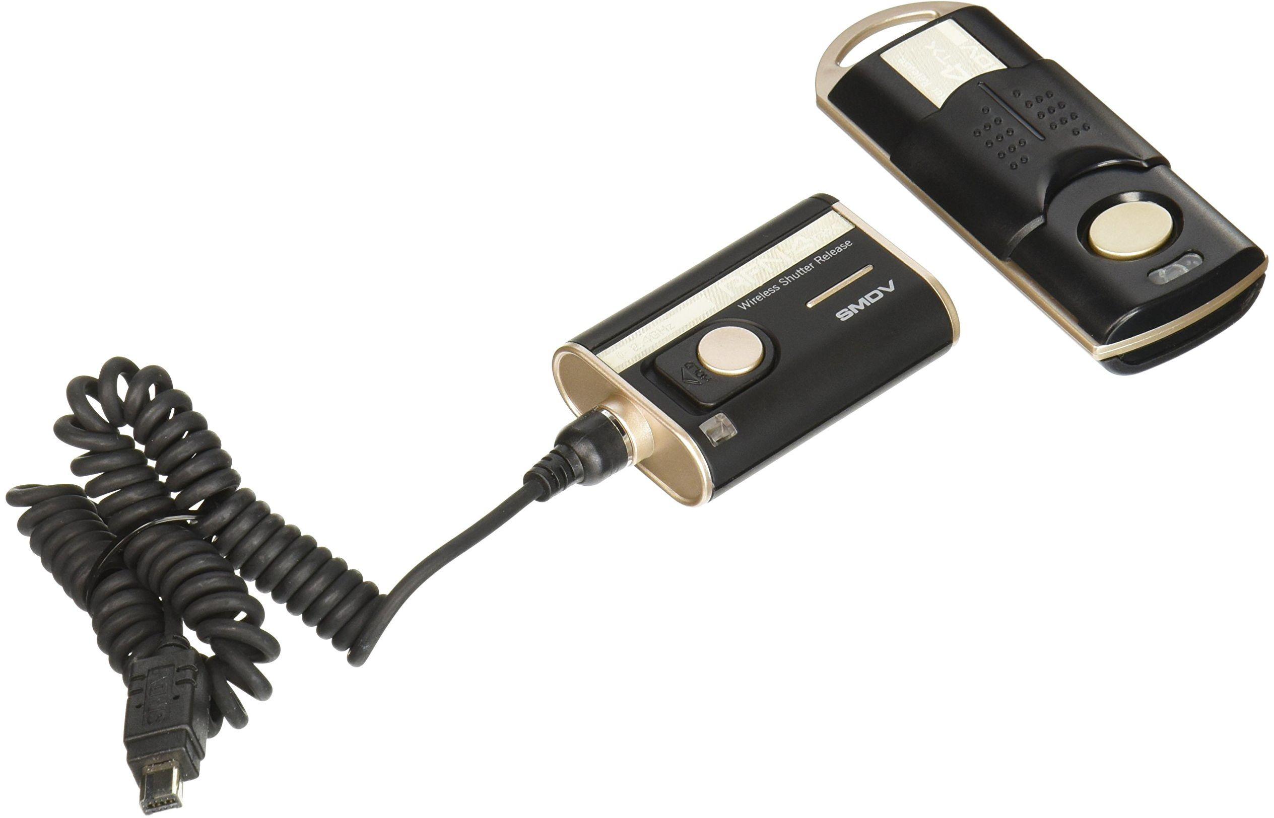 SMDV RFN-4 Bezprzewodowy pilot zwalniający migawki do Nikon D90, D3100, D3200, D5000, D5100, D7000, Kompatybilny z Nikon MC-DC2