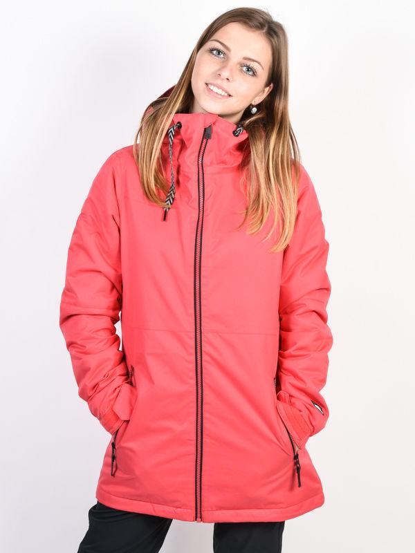 Volcom Act Ins BRIGHT ROSE kurtka zimowa kobiety - S