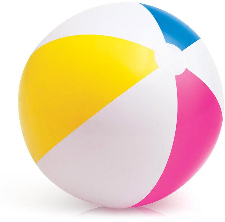 Intex - Piłka plażowa Kolorowa 61 cm 59030