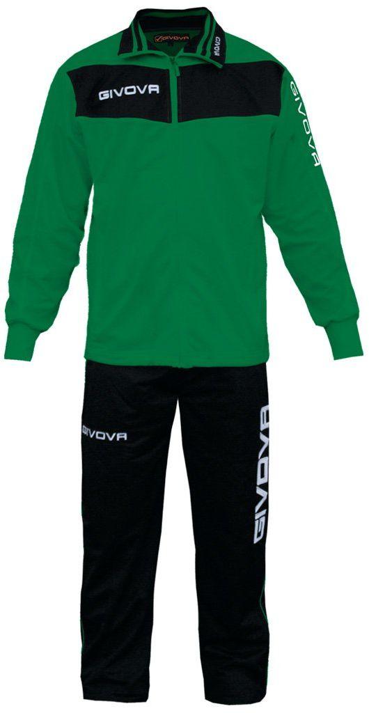Givova, garnitur wela, zielony/czarny, 2XL