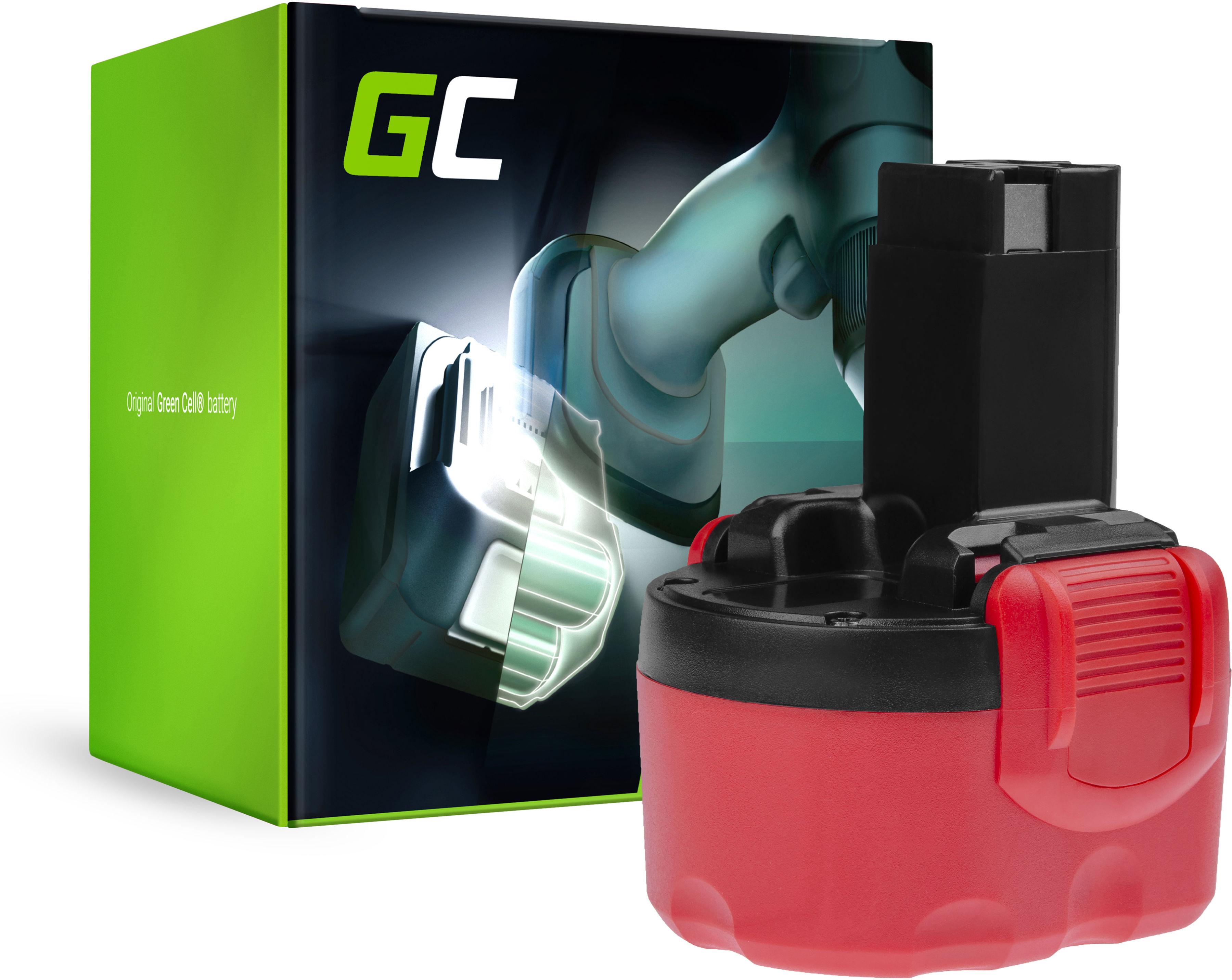 Bateria Green Cell (2Ah 9.6V) 2 607 335 453 2607335461 2 607 335 651 BAT049 do Bosch EXACT GDR GLI GSR PLI PSR 960 9.6V VE-2