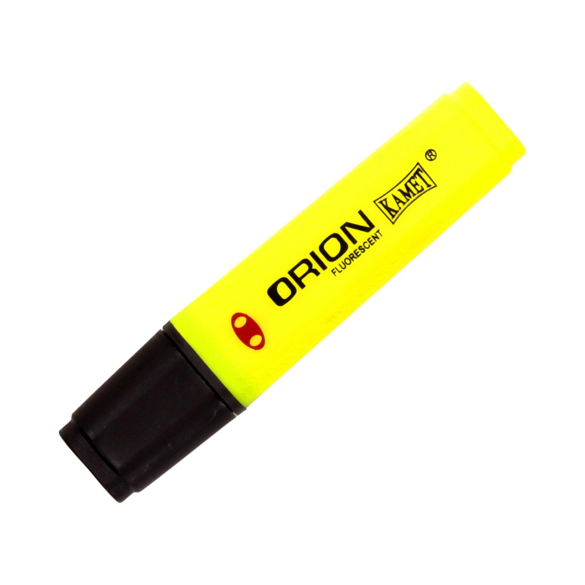 Zakreślacz żółty Orion Kamet