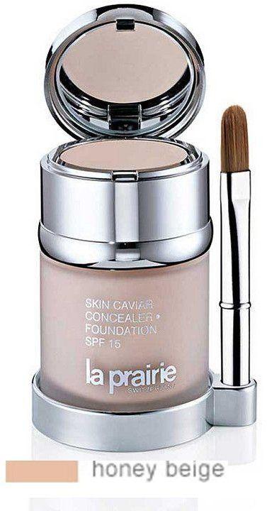 La Prairie Skin Caviar podkład i korektor SPF 15 odcień Honey Beige (SPF 15) 30 ml