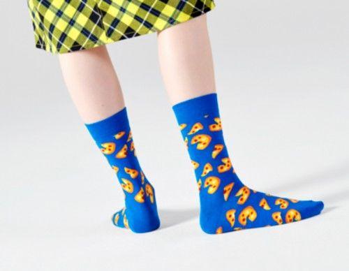 Happy Socks skarpetki PIZ01-6300 PIZZA 41-46