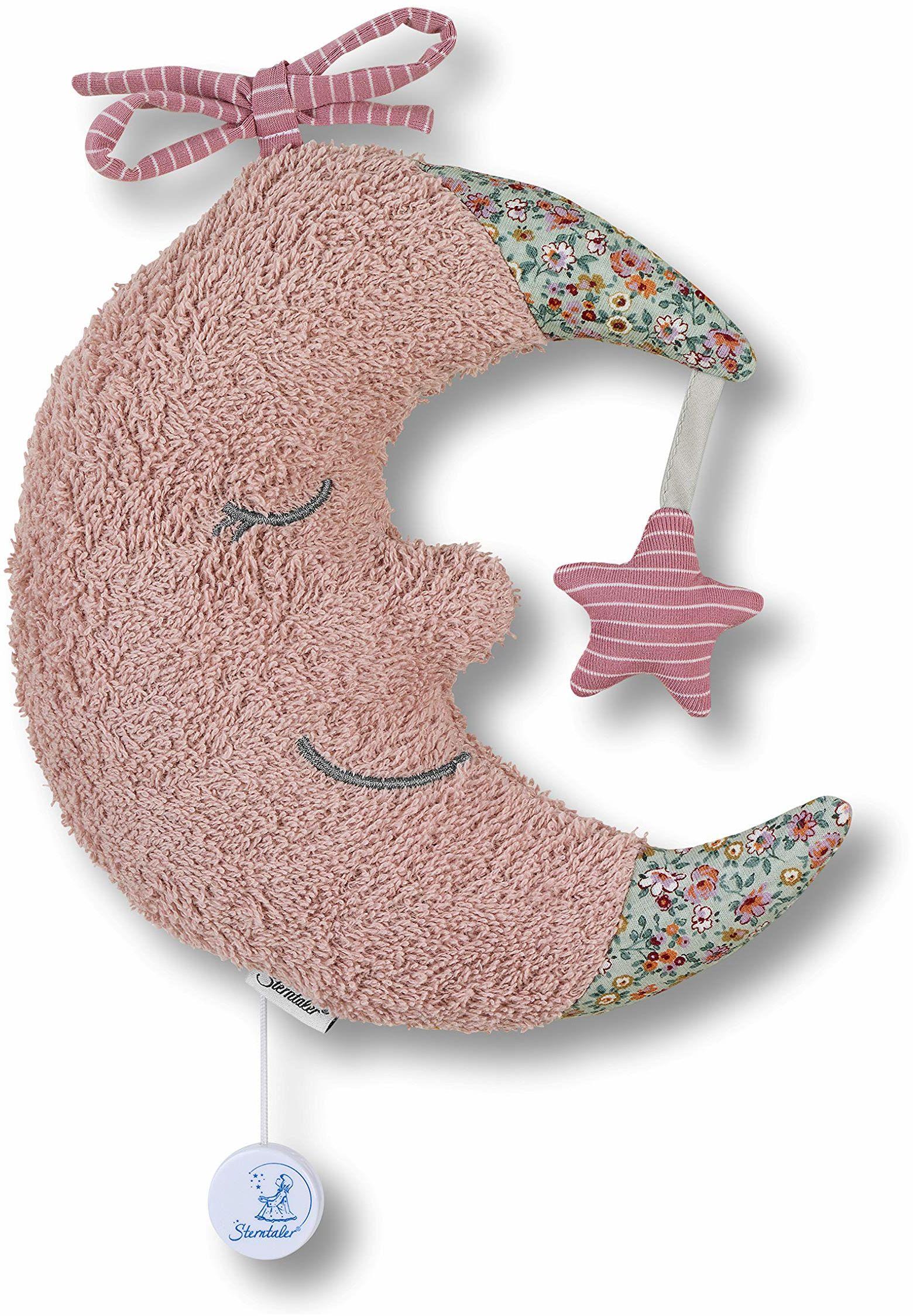 Pozytywka L księżyc puder różowy