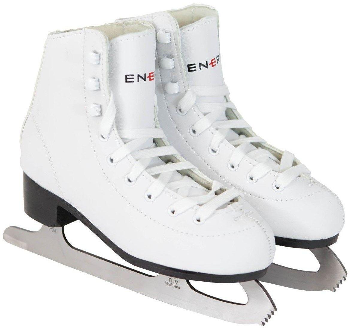 Łyżwy figurowe Enero białe Rozmiar buta: 36