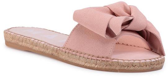 Manebi Espadryle Sandals With Bow W 1.4 J0 Różowy