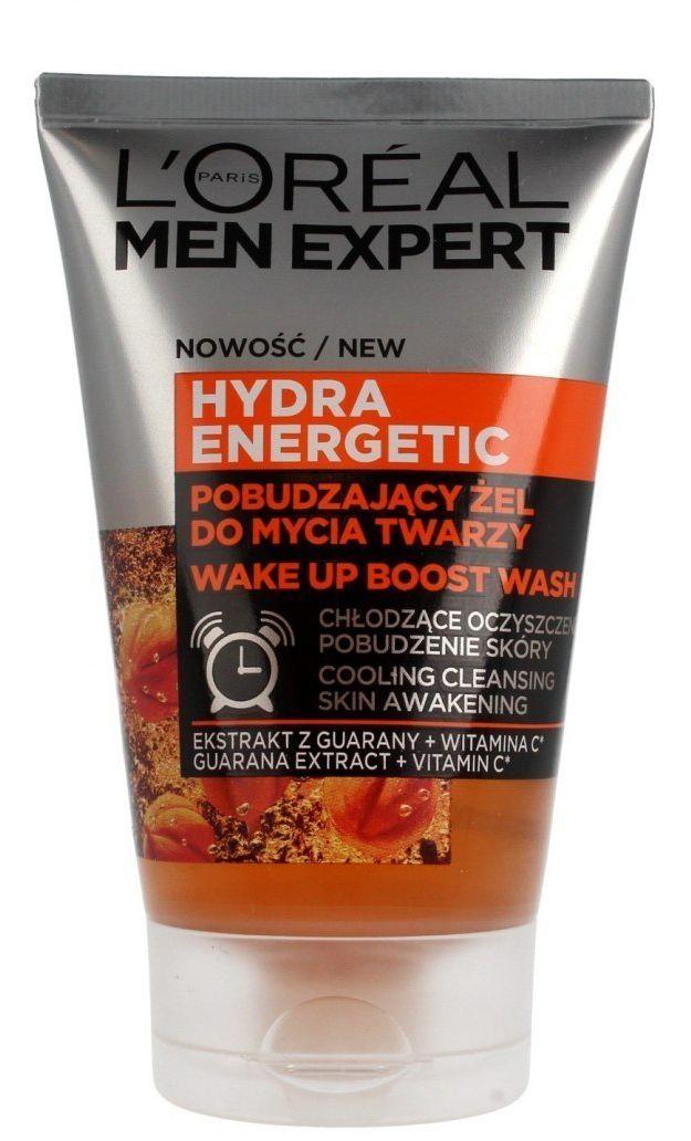 Loreal Loreal Men Expert Hydra Energetic Żel do mycia twarzy pobudzający 100ml