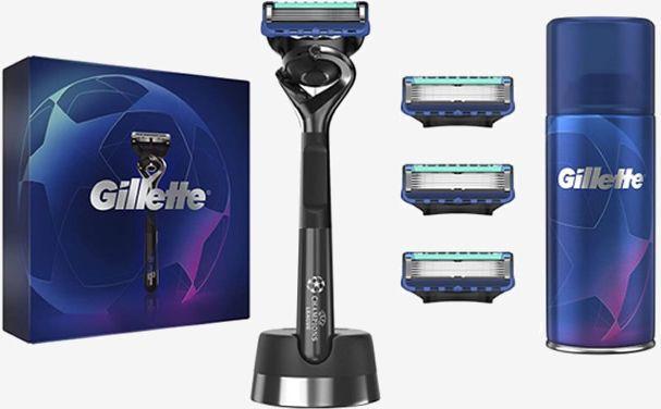 Gillette Fusion 5 Champions League Edition Set 4 Pieces 2020