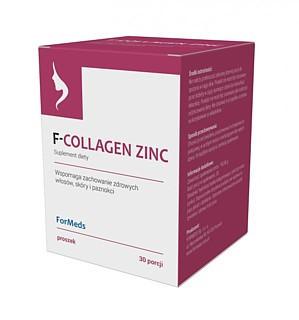 F-COLLAGEN ZINC 30porcji Kolagen Cynk