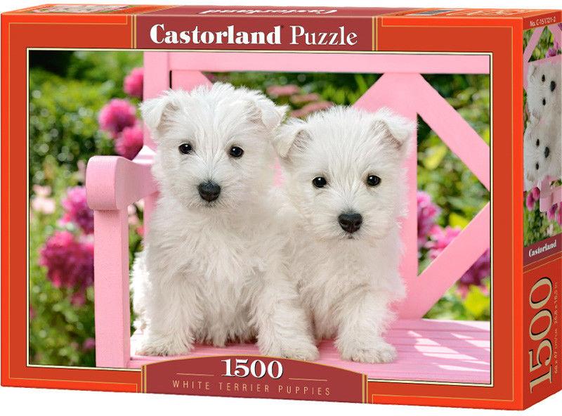 Castor Puzzle White Terrier szczeniak 1000 elem. 151721