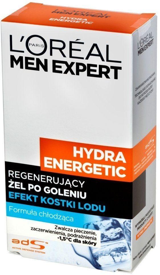 Loreal Loreal Men Expert Hydra Energetic Żel po goleniu-Efekt Kostki lodu 100ml