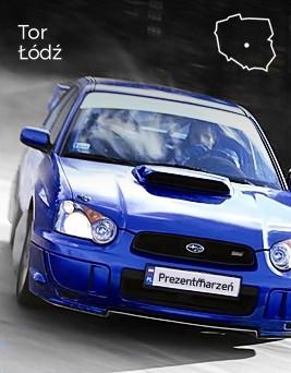 Jazda Subaru Impreza STI  Tor Łódź