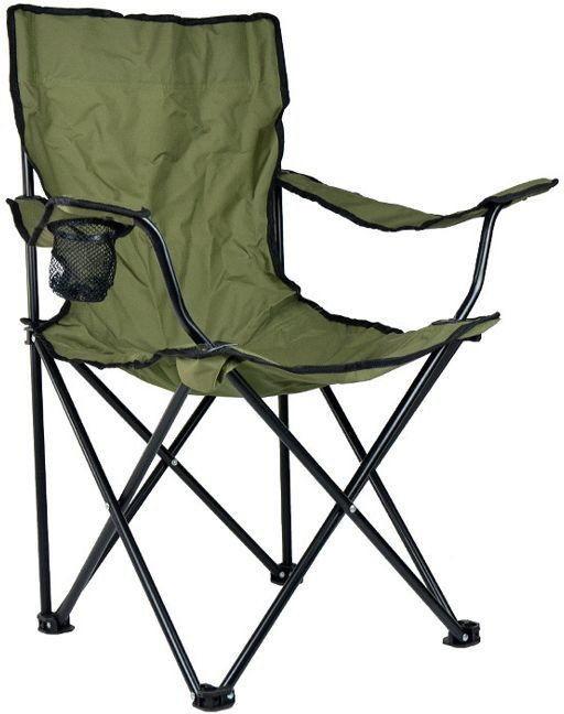 Mil-Tec Krzesło Składane Relax Wędkarskie Olive