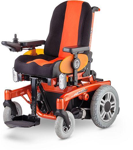 Pokojowo-terenowy wózek inwalidzki elektryczny dla młodzieży ICHAIR JUNIOR -Meyra Germany (1.616)
