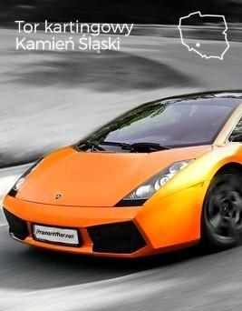 Jazda za kierownicą Lamborghini Gallardo  Tor kartingowy Kamień Śląski