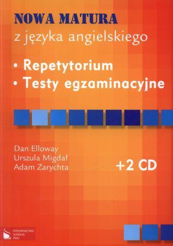 Nowa matura z jęz. angielskiego- repetytorium, testy. +2CD