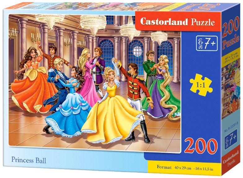 Castor Puzzle Bal księżniczek 200 elem. 222018