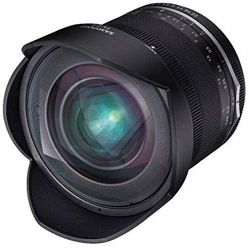 Samyang MF 14 mm F2,8 MK2 do Canon EF  szerokokątny obiektyw ręczny do pełnego formatu i ogniskowej APS-C Canon EF Mount, 2. generacji EOS 7D Mark II, EOS 5D Mark IV, EOS 77D, EOS 90D