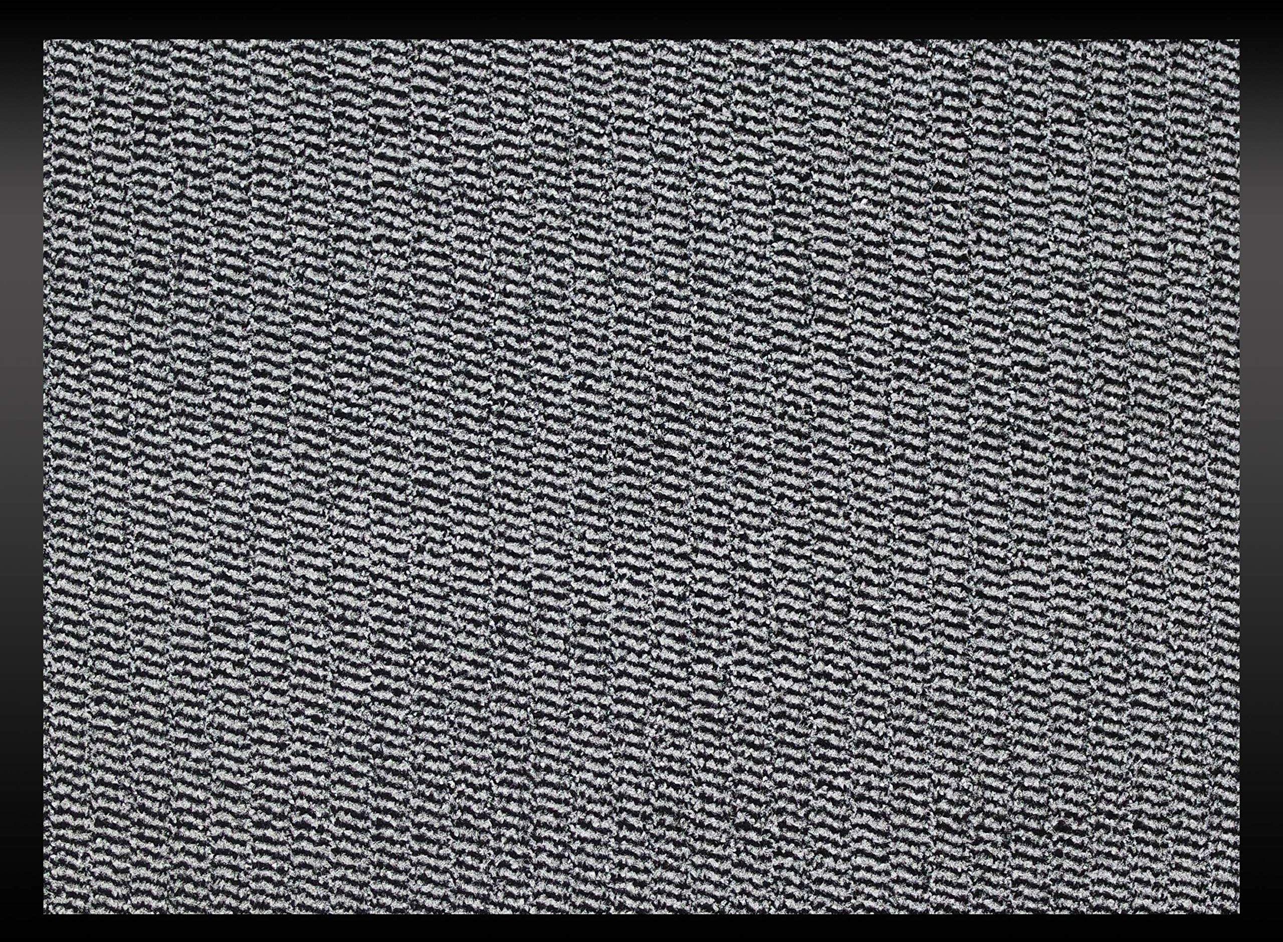 ID Mat 608005 Cahors/Florac wycieraczka, włókno polipropylenowe/PCW, 80 x 60 x 0,67 cm, szary, 60 x 80 cm