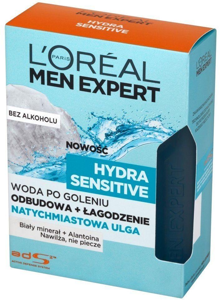 Loreal Loreal Men Expert Hydra Sensitive Woda po goleniu bez alkoholu 100ml