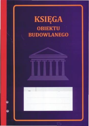 Księga obiektu budowlanego [Pu/Pb-50]