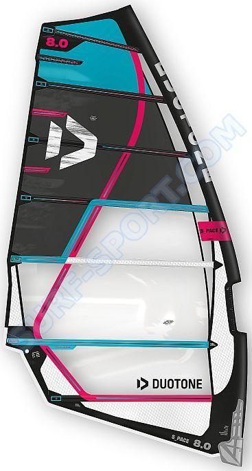Żagiel Windsurfingowy Duotone S_Pace 2020 C24:Black/Blue
