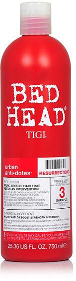 Tigi Bed Head Resurrection Szampon do włosów słabych i łamliwych 750 ml