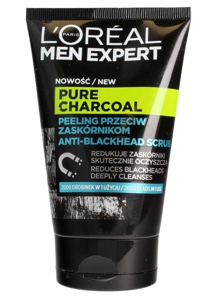 Loreal Loreal Men Expert Pure Charcoal Peeling przeciw zaskórnikom 100ml