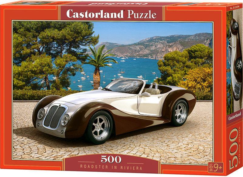 Castor Puzzle Roadster w Riwierze 500 elem. 53094