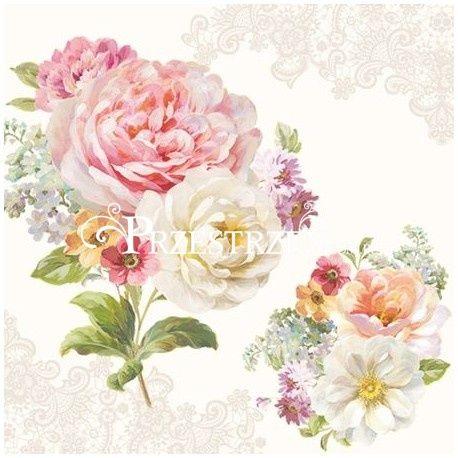 SERWETKI PAPIEROWE - ROMANTIC LACE Kwiaty (ROLC)
