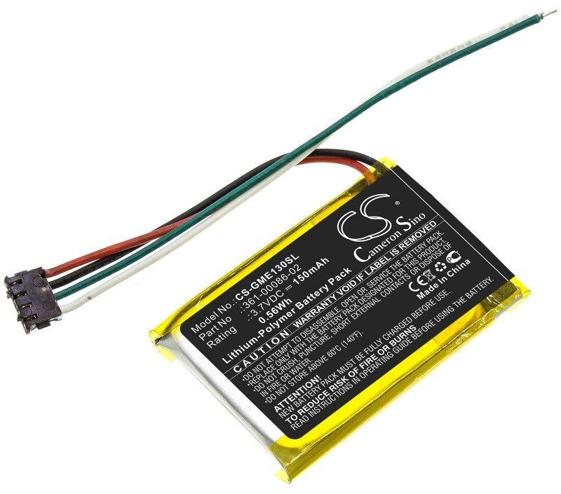 Garmin Edge 130 / 361-00086-02 150mAh 0.56Wh Li-Polymer 3.7V (Cameron Sino)