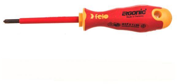 Wkrętak krzyżowy Z1 izolowany 1000V Ergonic 400 VDE 41710290