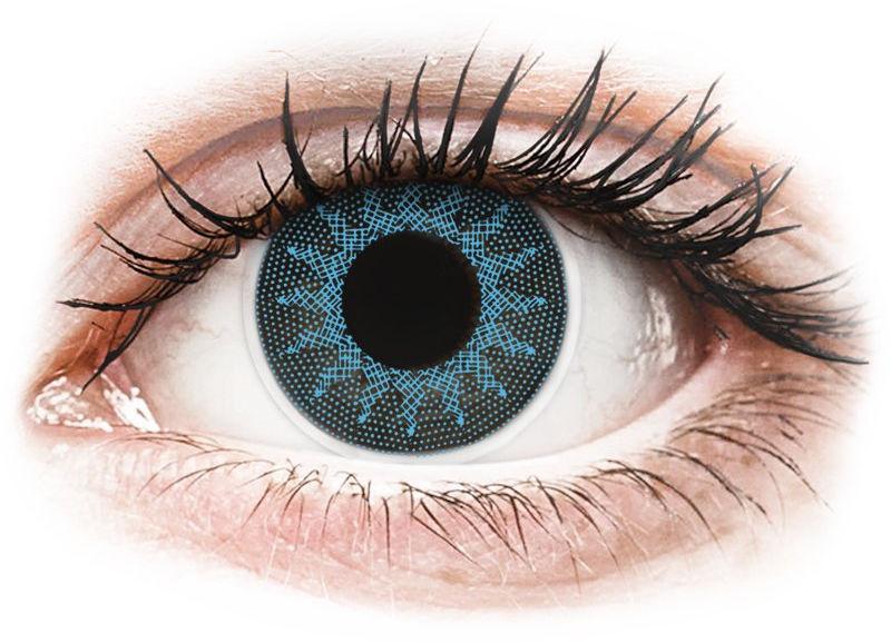 ColourVUE Crazy Lens - Solar Blue - zerówki