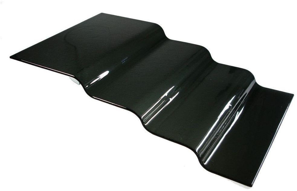 Schodki szklane - kaskada 3-stopniowa czarna