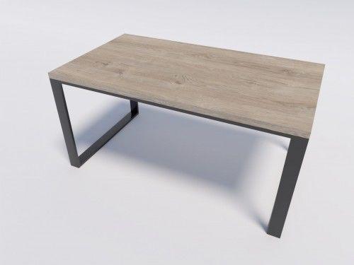 Stół industrialny do kuchni lub salonu RENO 160/90 Dąb Brunico
