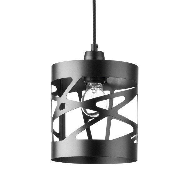 Lampa wisząca MODUŁ FREZ czarna 17,5cm