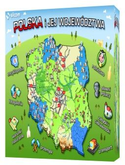 Polska i jej województwa - multilicencja - licencja elektroniczna