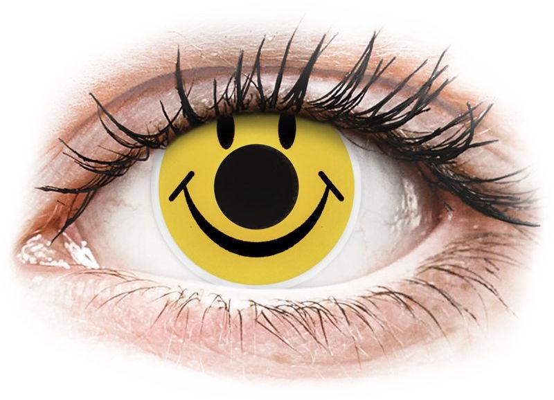 ColourVUE Crazy Lens - Smiley - zerówki