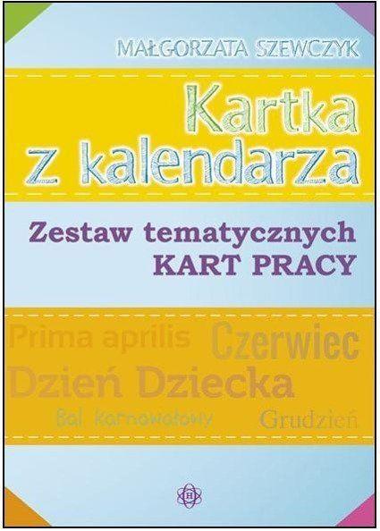 Kartka z kalendarza - Małgorzata Szewczyk
