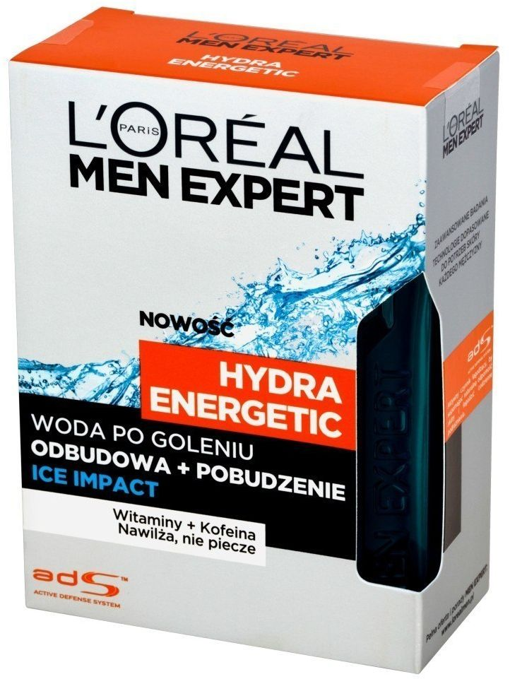 Loreal Loreal Men Expert Woda po goleniu Hydra Energetic Ice Impact 100 ml