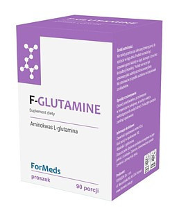 F-GLUTAMINE 90porcji Glutamina