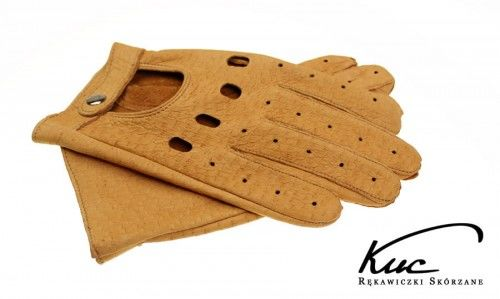 Rękawiczki samochodowe ze skóry z pekari - niezwykle miękkie i trwałe